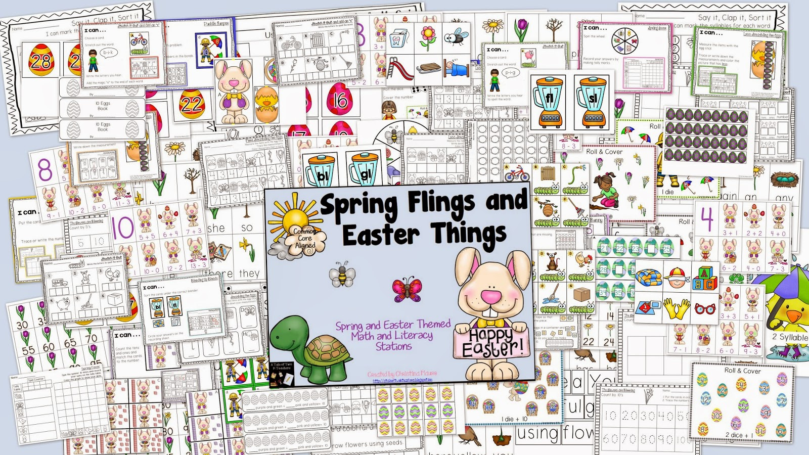 http://www.teacherspayteachers.com/Product/Spring-Flings-and-Easter-Things-1144430