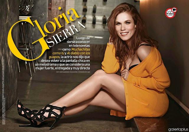 Fotos Gloria Sierra Revista TVyNovelas Superclick