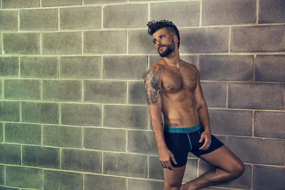 """""""O esporte mudou minha vida e minha rotina"""", disse Gagliasso. Foto: André Nicolau"""