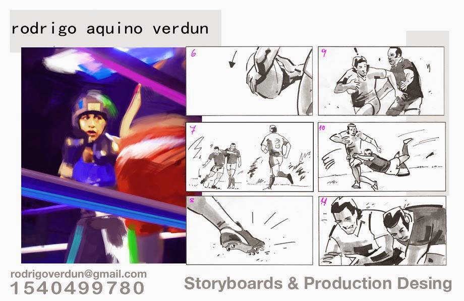 Rodrigo Aquino Verdun Storyboards