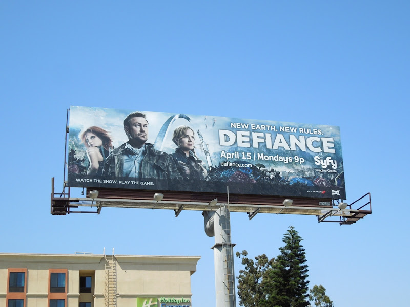 Defiance season 1 billboard