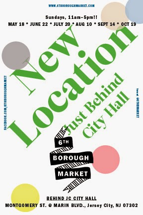 New Location - Just Behind City Hall : 6th Borough Market