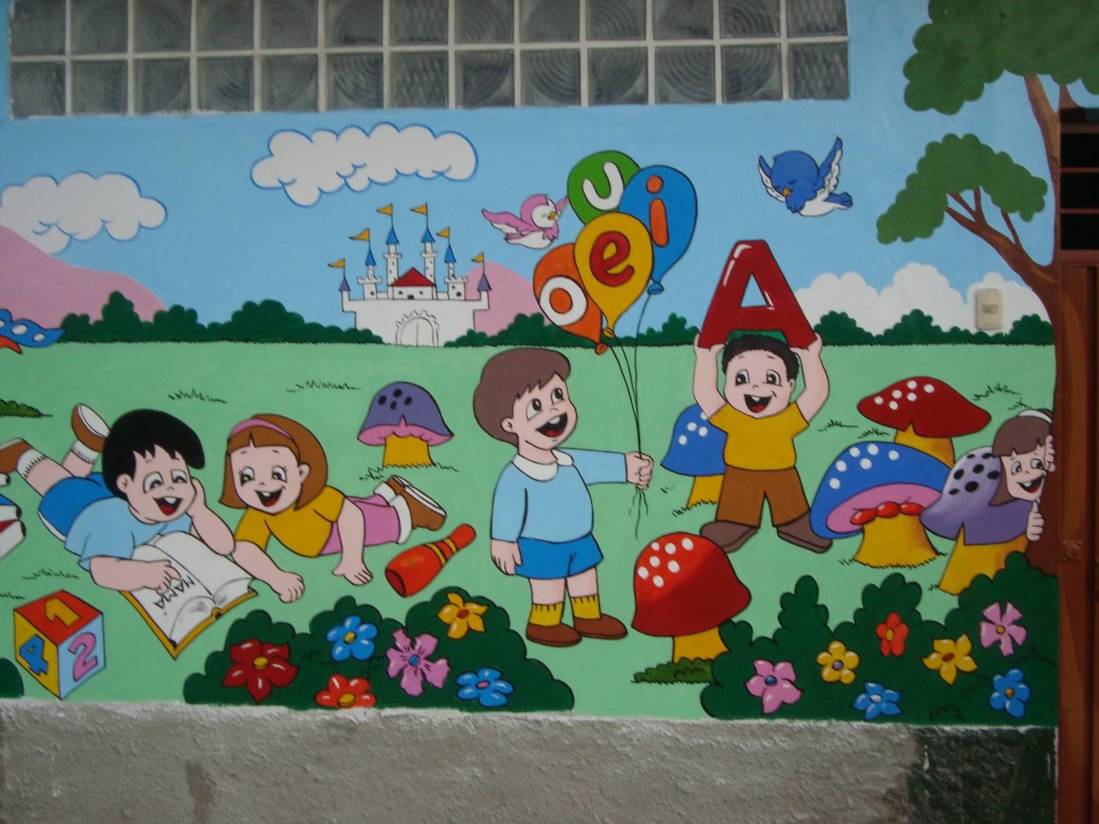 Castillos murales infantiles for Murales de tela para pared