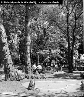 mini-golf, minigolf, piscine, plage, Monruz, Neuchâtel