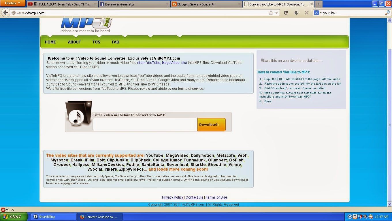 how to create mp3 url