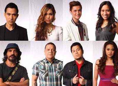 Top 8 The voice ph artists