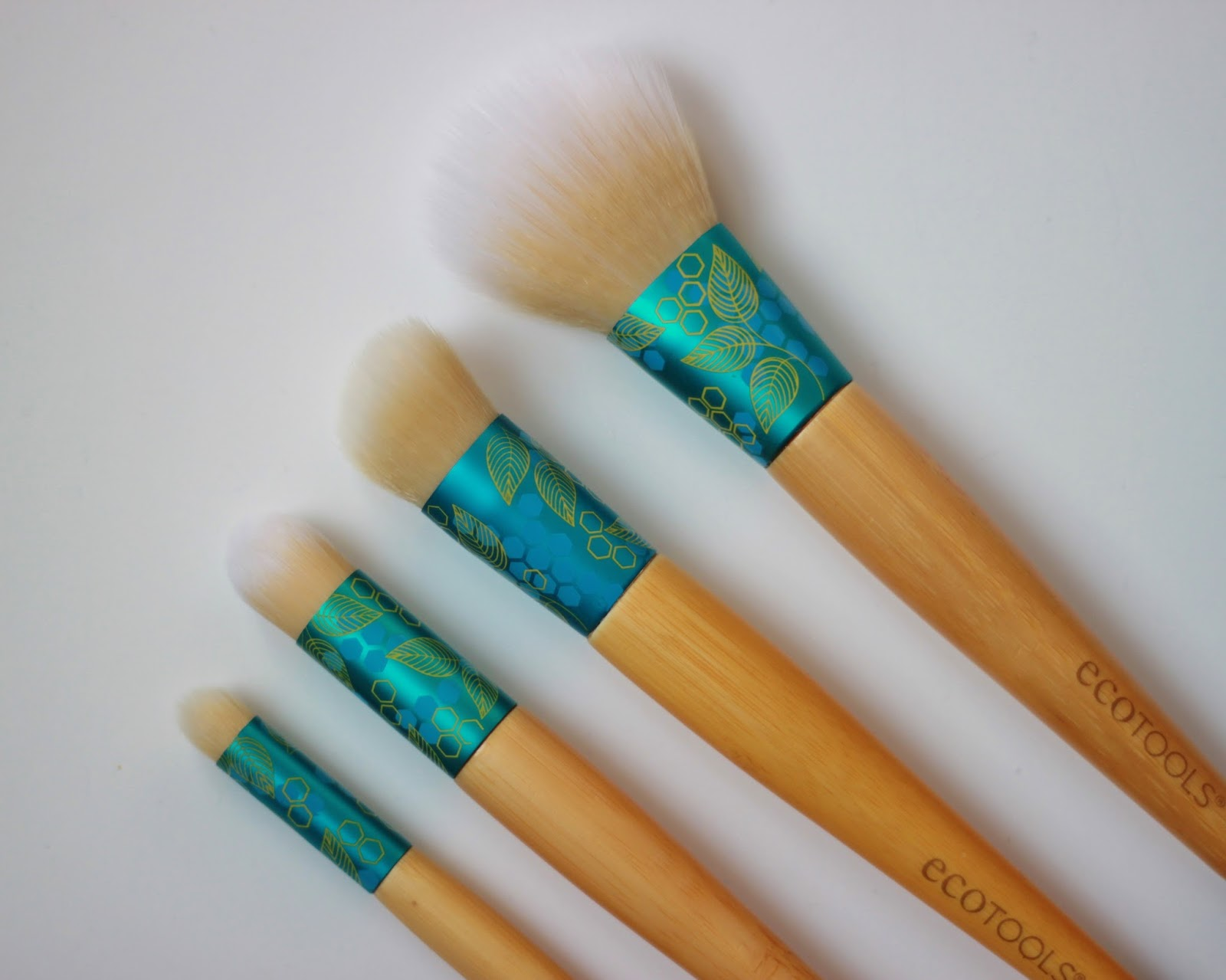 ecotools complexion collection makeup brushes