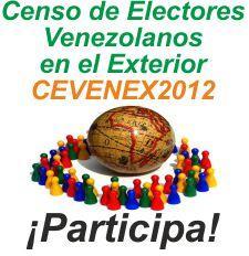 Venezolanos siempre censo de los venezolanos en el for Venezolanos en el exterior