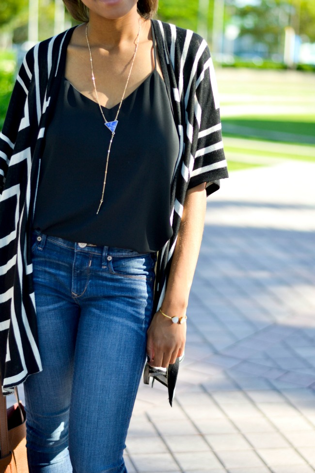 Western Cardigan & Booties | Fall Outfit Ideas