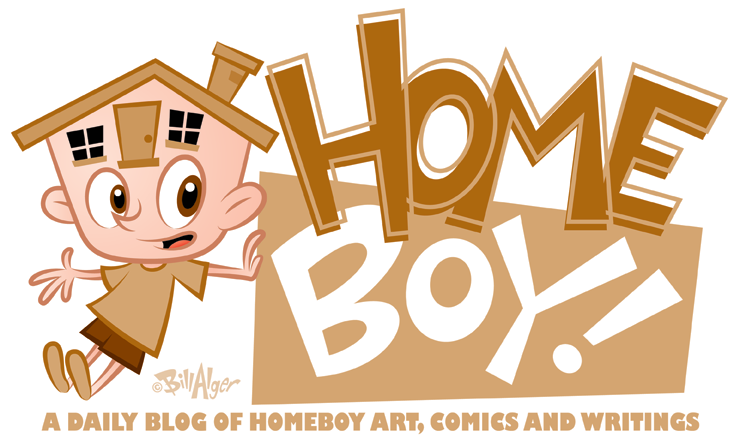 Homeboy Comics Daily Blog