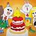 LINE Celebrates Fourth Anniversary