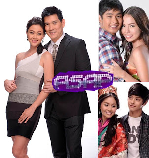 Jodi and Papa Chen, Coco and Julia, Daniel and Kathryn spread the love on ASAP 2012 (September 2)