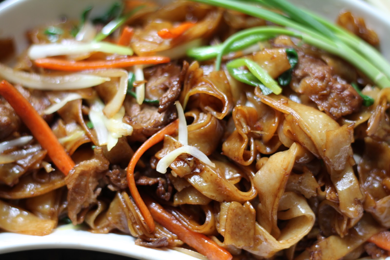how to cook fresh ho fun noodles