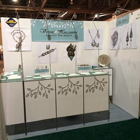 Vickie hallmark jewelry design for Jewelry display trade show