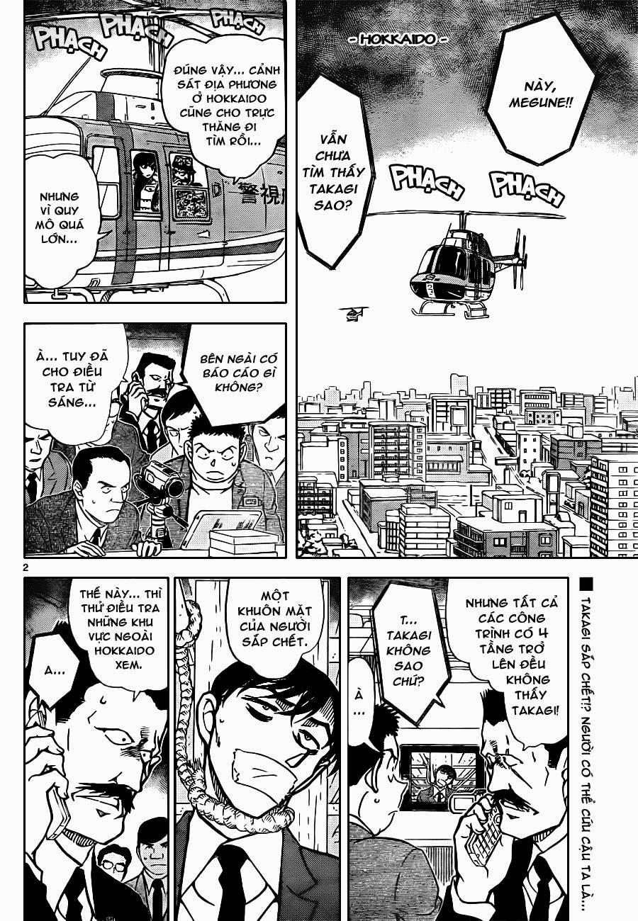 Thám Tử Lừng Danh Conan - Chapter 808 - Pic 2