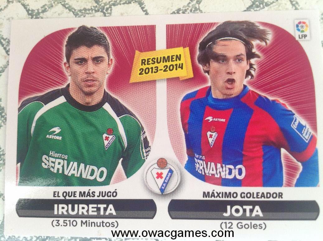 Liga ESTE 2014-15 resumen Eibar