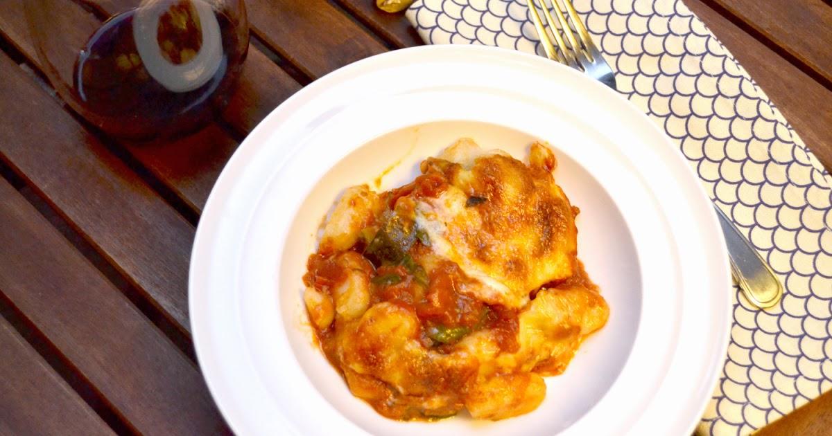Test Kitchen: Gnocchi, Zucchini, and Spinach Bake
