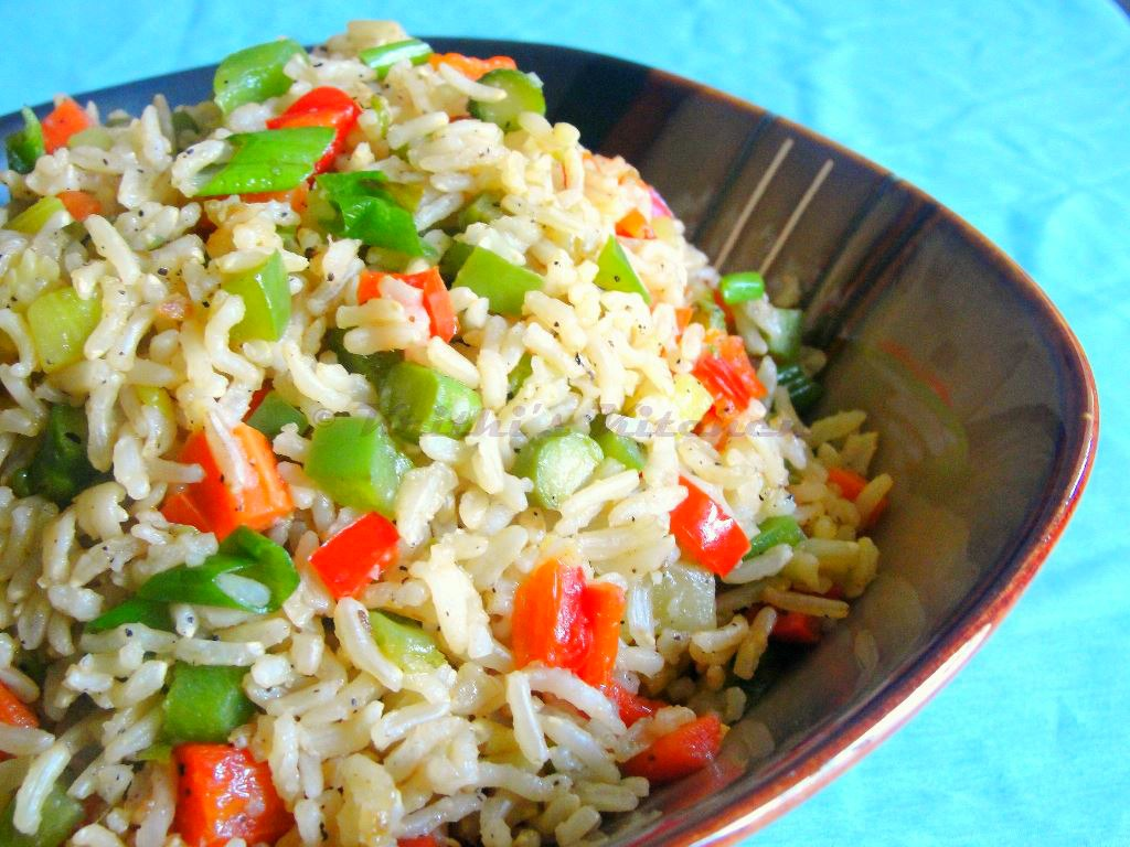How to cook VEGETABLE FRIED RICE | Fried Rice Recipe | INDIAN ...