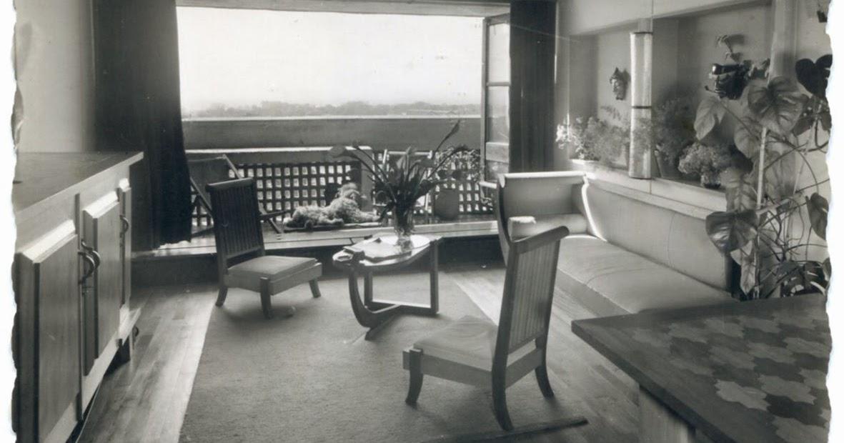 architectures de cartes postales 2 meubles immeuble le corbusier. Black Bedroom Furniture Sets. Home Design Ideas