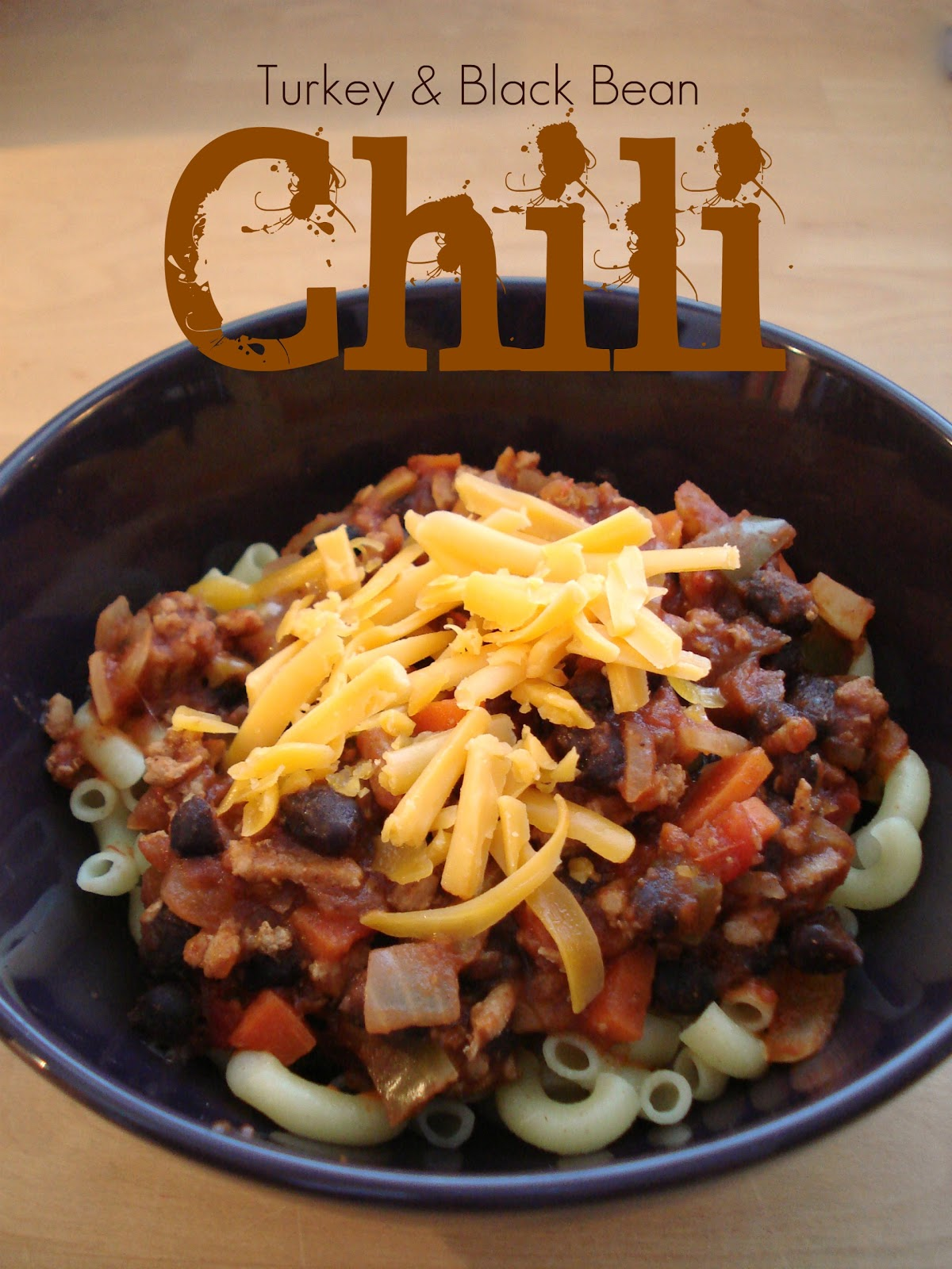 Silver Boxes: Turkey & Black Bean Chili