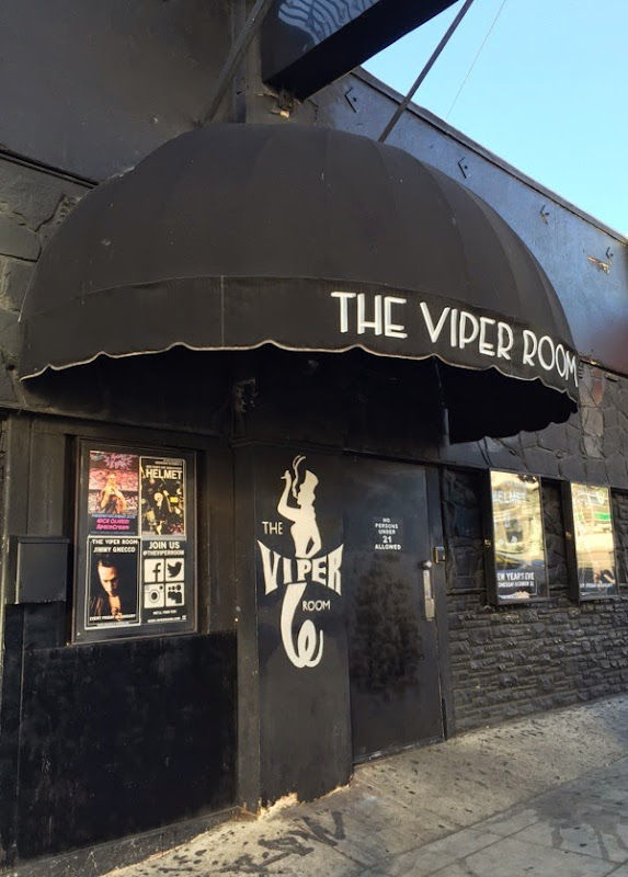 Viper Room entrance Sunset Strip