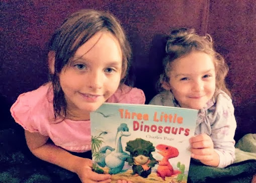 Three Little Dinosaurs Book Parragon Charles Fuge