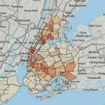 New York City crime map