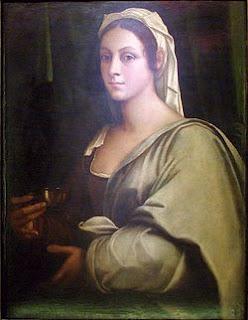 Victoria Colonna con 30 años, por Sebastiano del Piombo, en 1520.