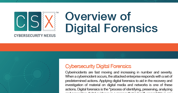 digital forensic essay Introduction of digital forensic information technology essay abstract in current world, computers have become part of our daily lives where each of us required to use the computer to do our daily activities as such purchasing online items, surfing internet, access email, online banking transaction etc.