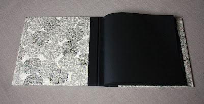 handmade wedding memory book