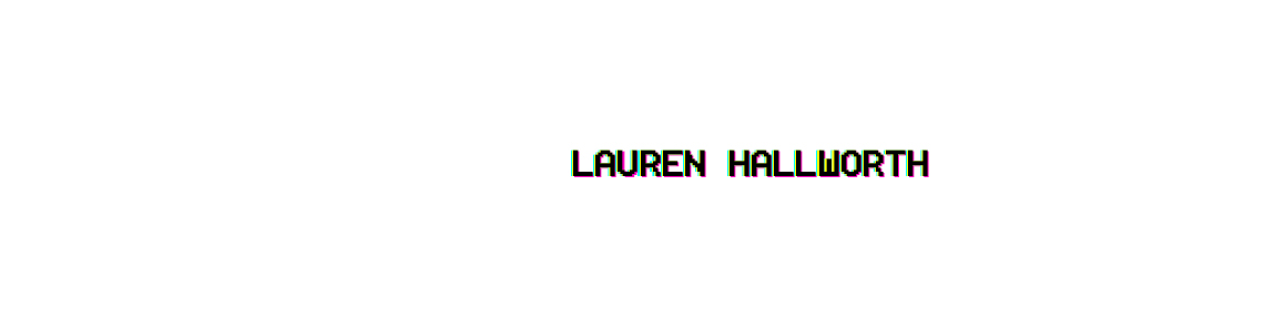 Lauren Hallworth