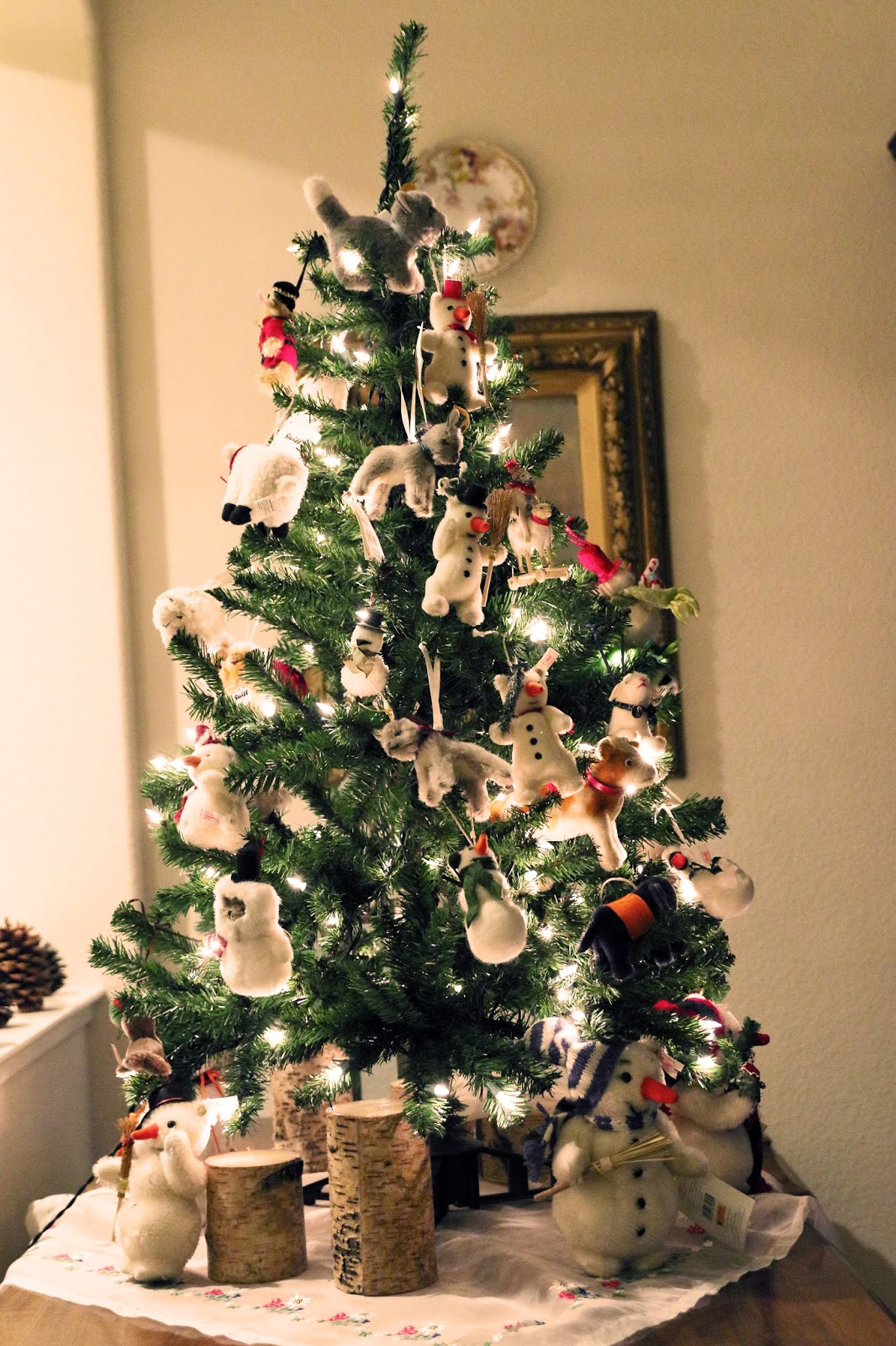 animal themed christmas tree - Decorative Picks For Christmas Trees