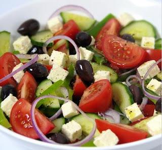 Greek Salad- Mediterranean diet- Travel Europe