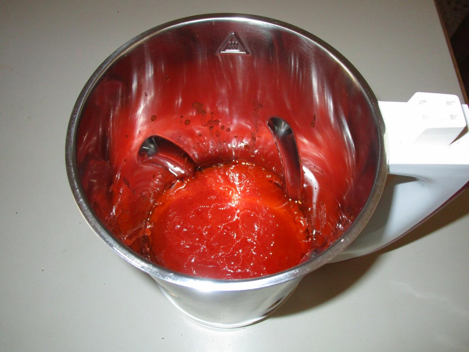 pasta e piselli con la soup maker