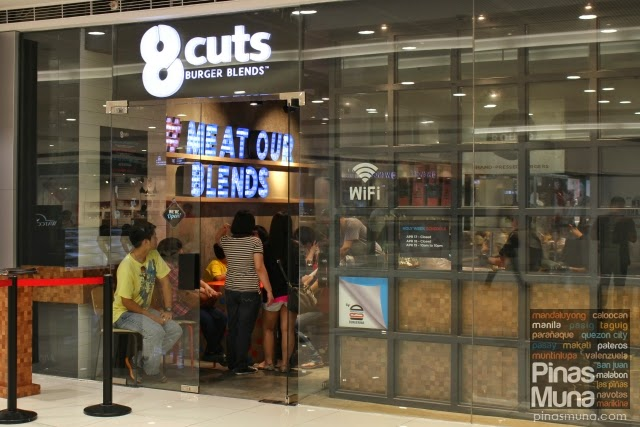 8 Cuts Burger Blends at Mega Fashion Hall