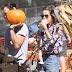 Alessandra Ambrosio meets Jessica Alba at Pumpkin Patch 2013