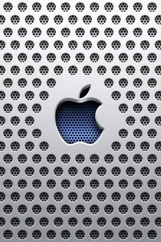 Apple Inc. White Logo