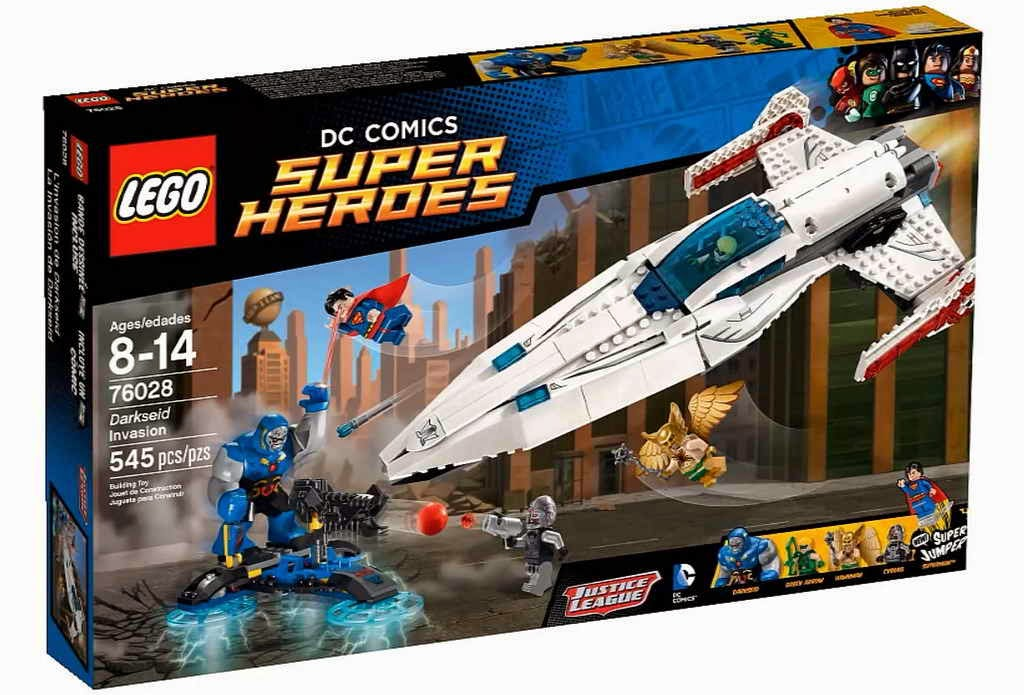 LEGO gosSIP: 300914 LEGO 76028 Darkseid Invasion box art ...