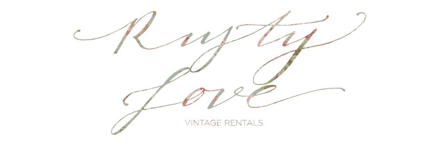 rusty love vintage rentals