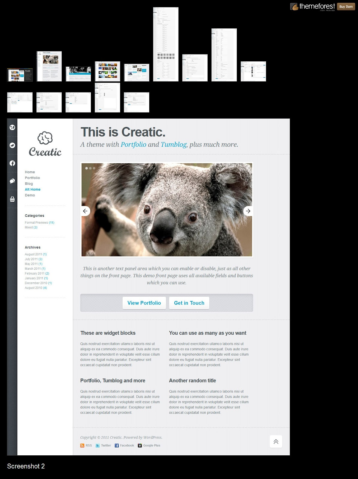 Creatic-Portfolio-WordPress-Templates