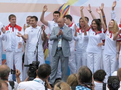 Ильшат Гафуров произносит речь