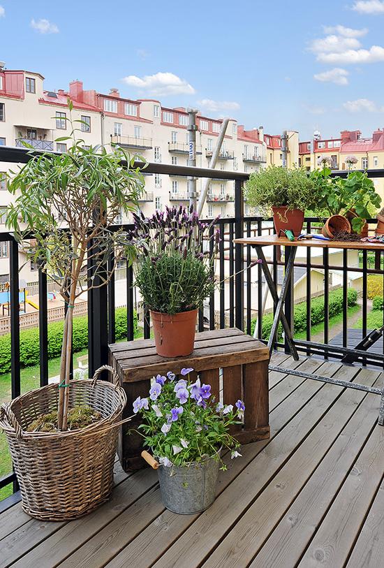 Estilo rustico minimo balcon rustico - Balcones rusticos ...
