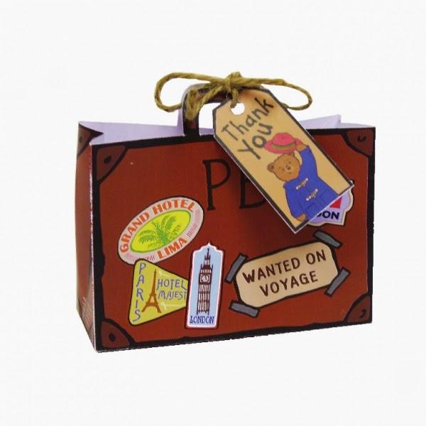 Paddington Suitcase Loot Bags