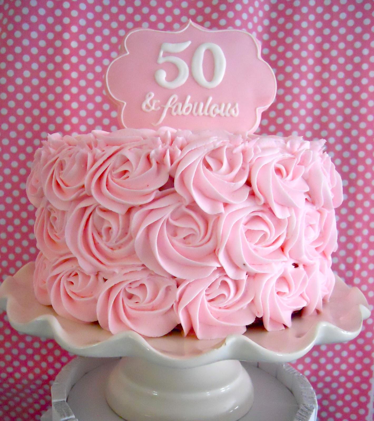 Fifty Birthday Cake Designs