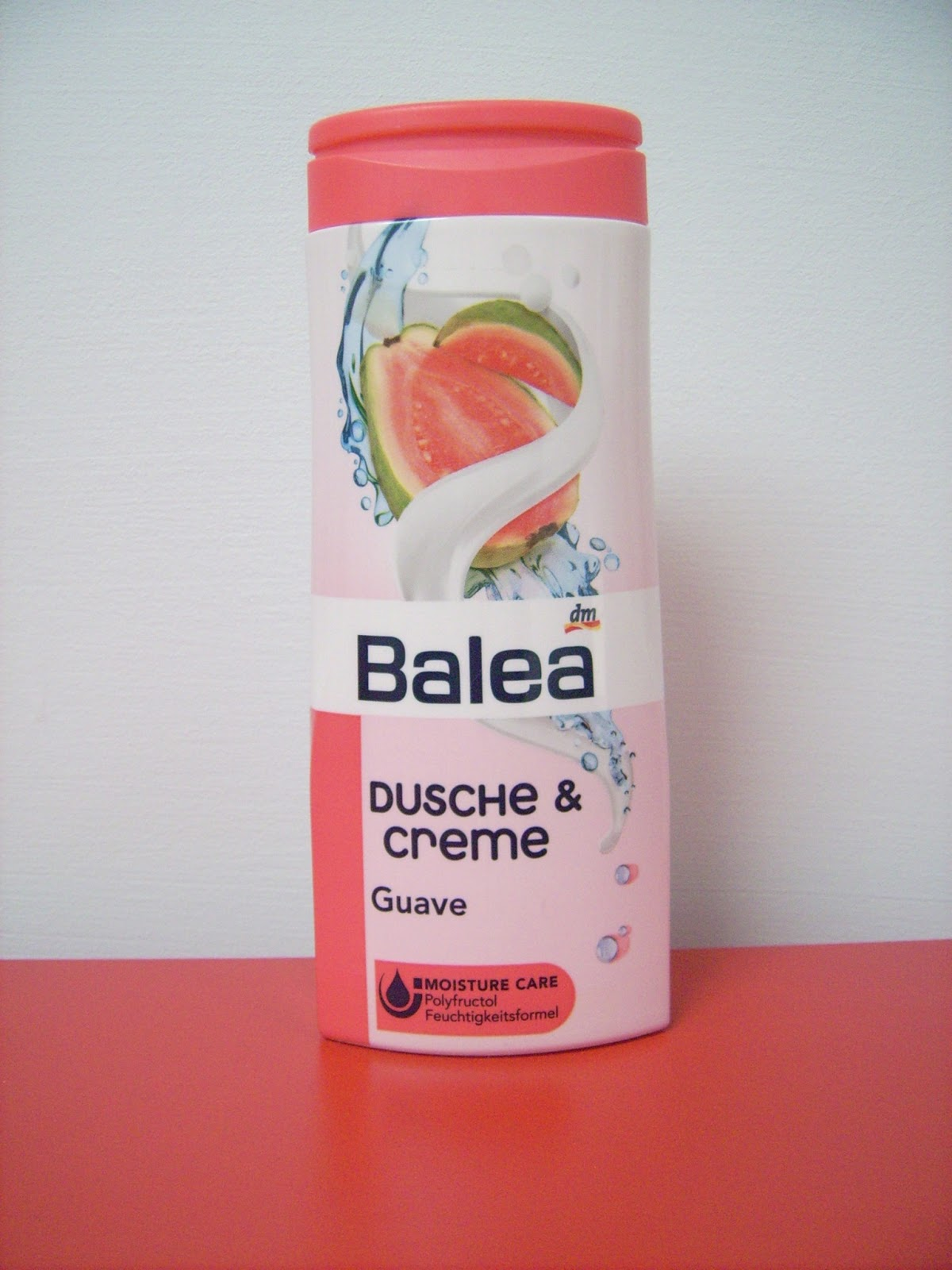 guava shower gel balea