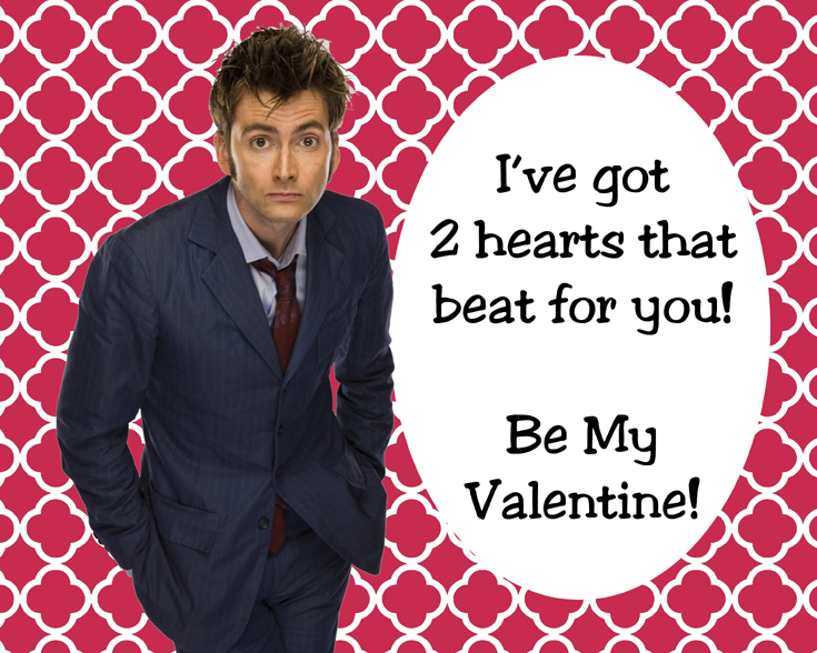 I Want You To Have A Really Geeky Valentineu0027s Day. Nothing Says True Love  More Than Funny Quotes And Pictures From The Who Niverse.