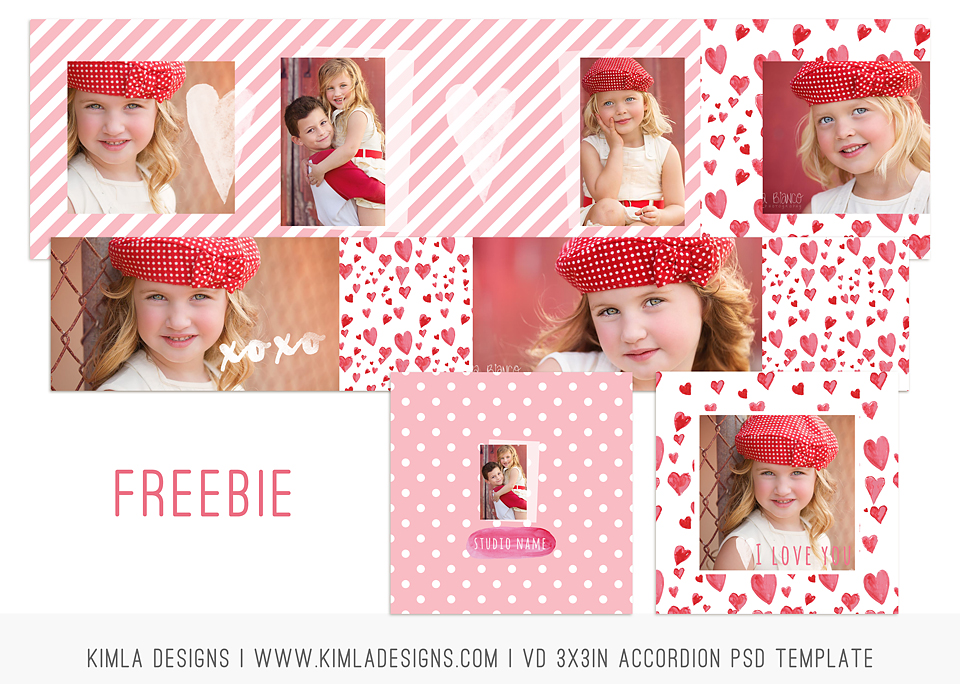 Valentine's Day Freebie by Kimla Designs