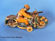 Moto militar.