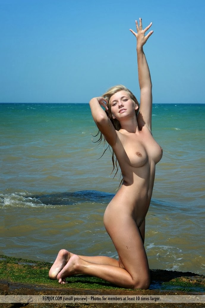 young nude and very skinny