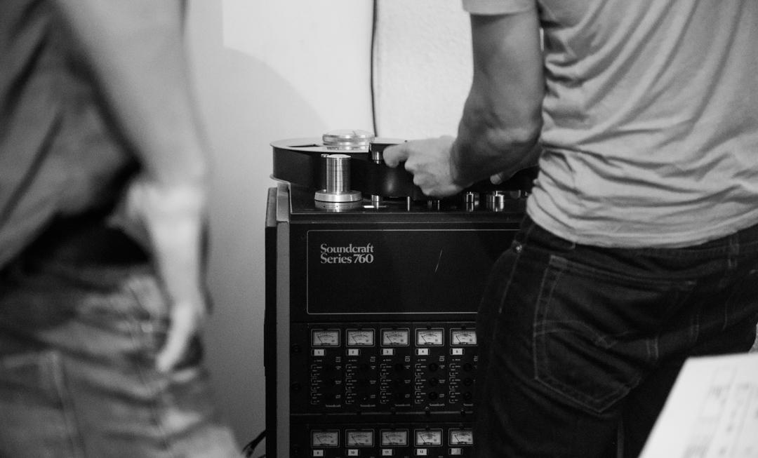 Birmingham recording studio Park Studios JQ | Souncraft Series 760